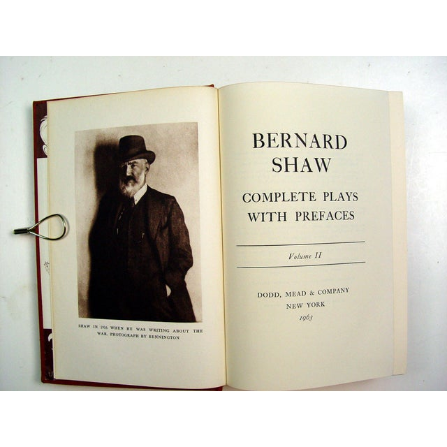 Collected Plays of Bernard Shaw - 5 Volumes - Image 5 of 5