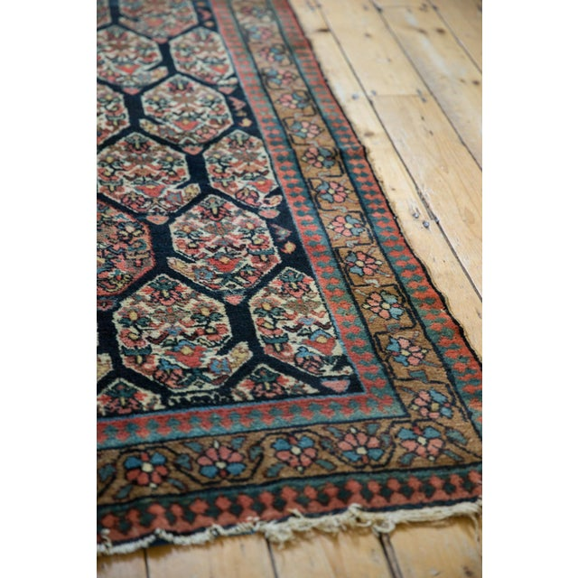 """1910s Antique Fragment Northwest Persian Rug - 3'2"""" X 5' For Sale - Image 5 of 12"""