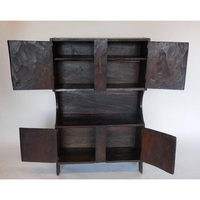 Small scale cabinet from the highlands of Guatemala. Originally used as a trastero kitchen storage for crockery....