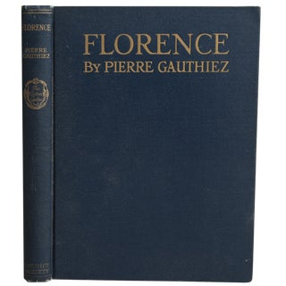 Florence Collectible Book For Sale