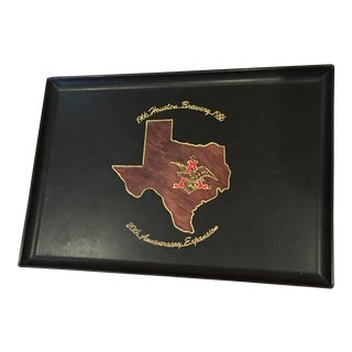 Vintage Houston Texas Brewery Tray For Sale