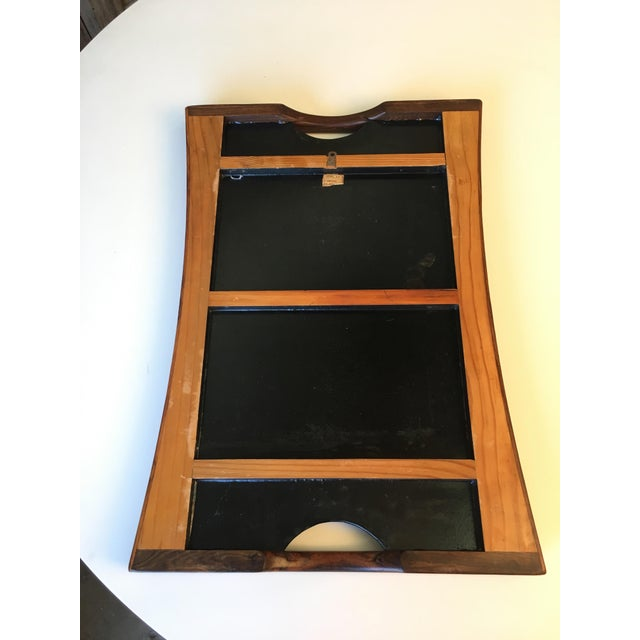 Don Shoemaker Exotic Hardwood Serving Tray For Sale - Image 11 of 13