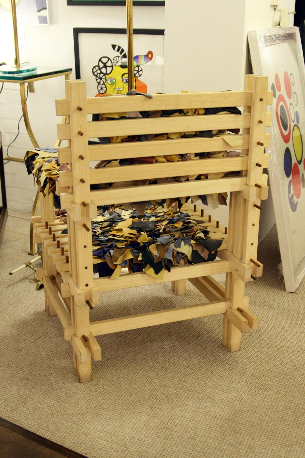 Anacleto Spazzapan Wooden Armchair   Image 6 Of 7