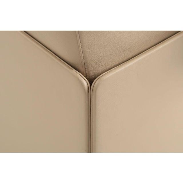 "Tan Lievore Altherr Molina for Poltrona Frau ""Cassiopea"" Leather Sofa For Sale - Image 8 of 11"