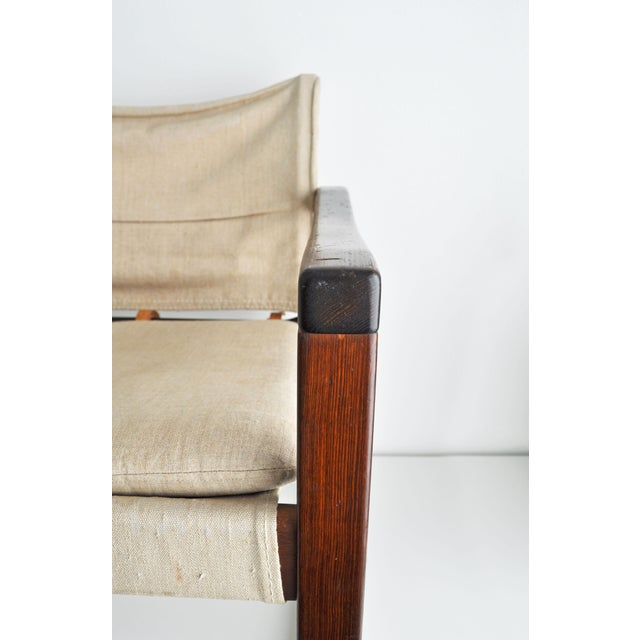 Vintage Safari Style Lounge Chair - Image 8 of 9