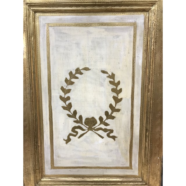 Grand Tour 20th Century Italian Giltwood Florentine Room Divided Screen Hollywood Regency For Sale - Image 3 of 13