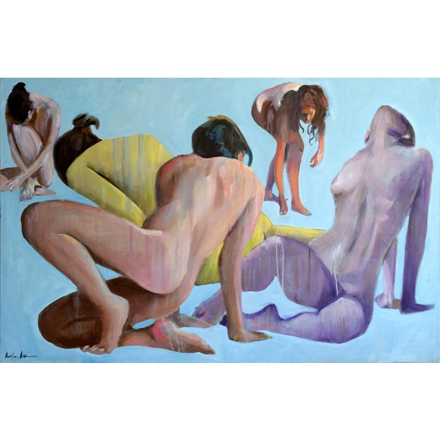 Nudes in Silence Painting - Image 2 of 9