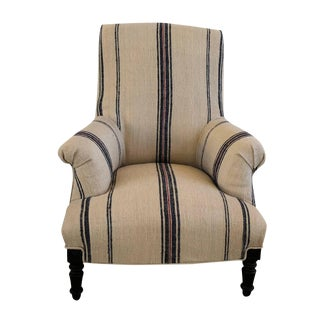 19th Century French Napoleon III Fauteuil Armchair For Sale