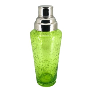 Acid Green Bubble Controlled Cocktail Shaker For Sale