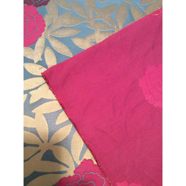 Osborne & Little Pink & Purple Peonies Fabric- 2 Yards - Image 5 of 5