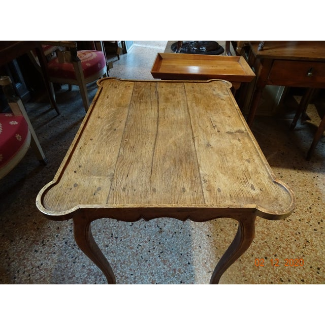 Mid 19th Century French Oak Side Table For Sale - Image 4 of 11