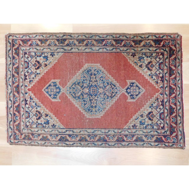 Beautiful old Persian Tabriz rug from Persia, great colors, excellent condition.