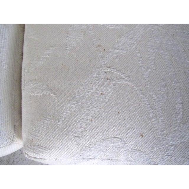 Milo Baughman Mid-Century Circular Sofa For Sale - Image 9 of 10