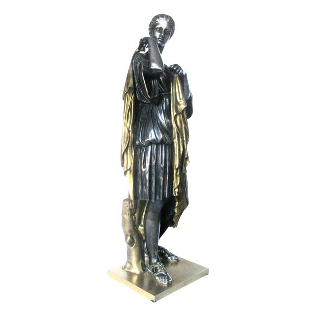 """22-Inch Barbedienne """"Diana"""" Sculpture - Image 1 of 9"""