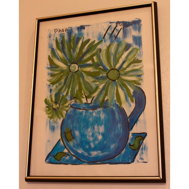 Francois Paris Mid-Century Original Still Life Painting - Image 2 of 11