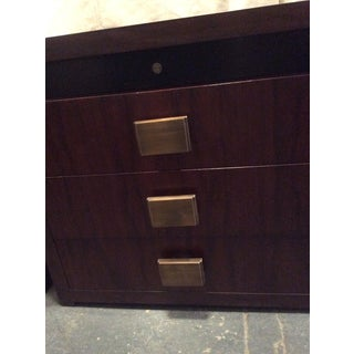 1990s Art Deco Bolier Rosewood Stands - a Pair Preview