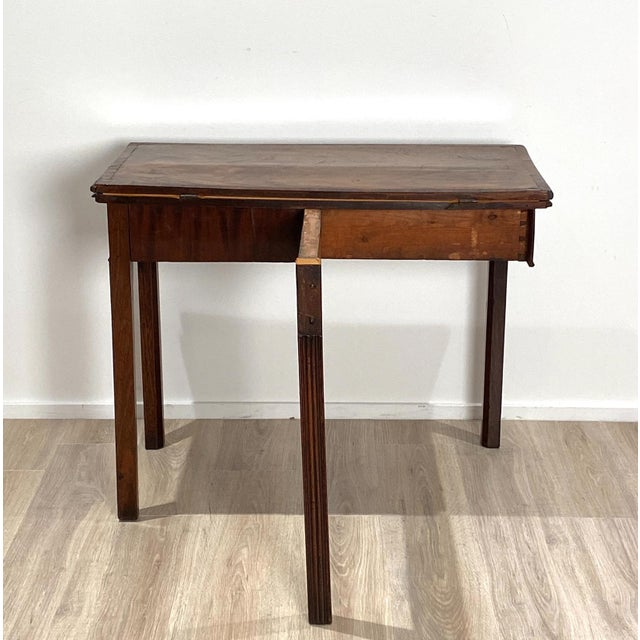 18th Century English Mahogany Game Table For Sale In San Francisco - Image 6 of 10