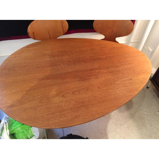 Arne Jacobsen Egg Table With Ant Chairs Set For Sale - Image 11 of 11