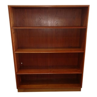 Danish Teak Bookshelf For Sale