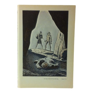 """1949 """"Two Men Who Had Been Thieving"""" the Decameron of Giovanni Buccaccio Illustrated Print For Sale"""