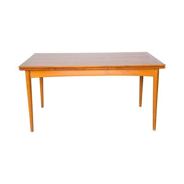 Danish Modern Teak Dining Table - Image 1 of 5