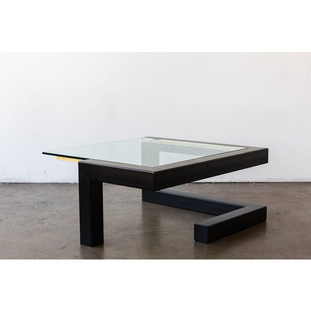 Inspired by the imaginative perspective and surreal qualities of abstract art, the Bernal Coffee Table is designed to...