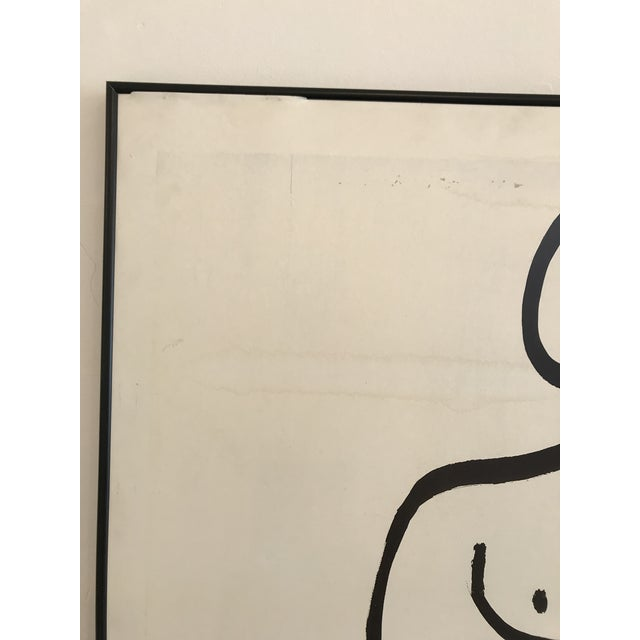 Paper 1985 Framed Matisse Louisiana Exhibition Poster For Sale - Image 7 of 10