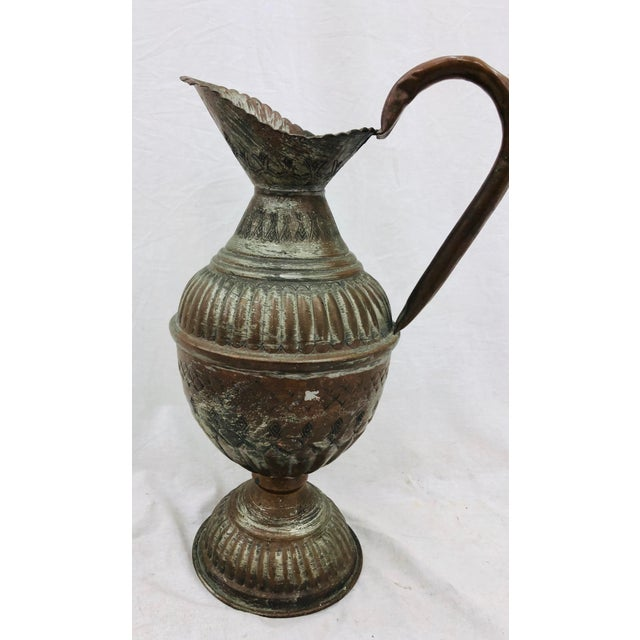 Abstract Antique Indian Pitcher For Sale - Image 3 of 8