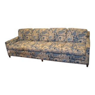 Handcrafted Custom Vintage Sofa For Sale