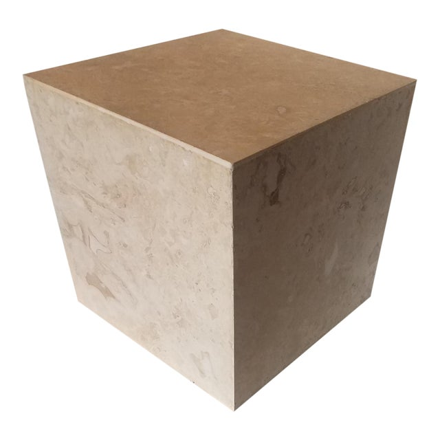 Alejandro Rocha Large Cube 3 Sculptural Object For Sale
