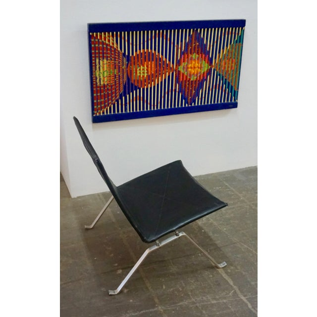 Metal Pk 22 Lounge Chairs by Poul Kjaerholm - a Pair For Sale - Image 7 of 11
