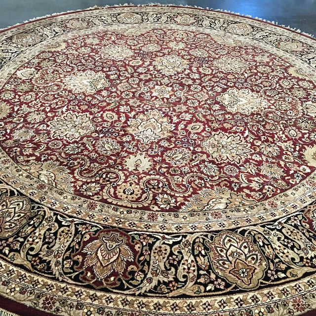 Circular Persian Rug - 14' x 14' - Image 6 of 7