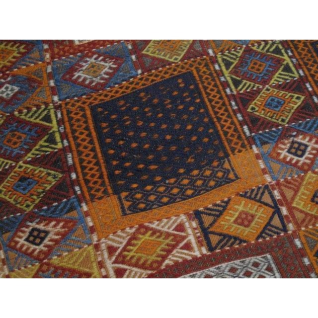 "1950s Southeast Anatolian ""Jijim,"" Long Rug For Sale - Image 5 of 9"