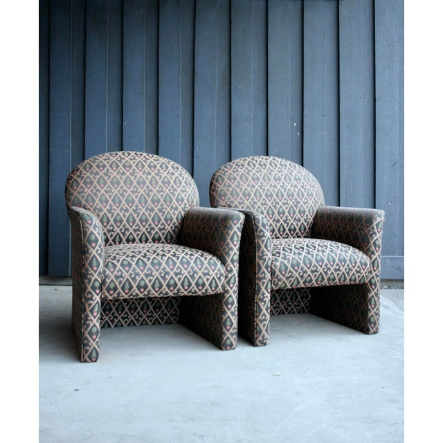 1980s Contemporary Armchairs, Set of 4 For Sale In Dallas - Image 6 of 13