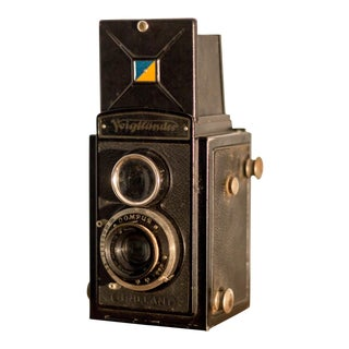 1932 Voigtländer German 120mm Film Camera