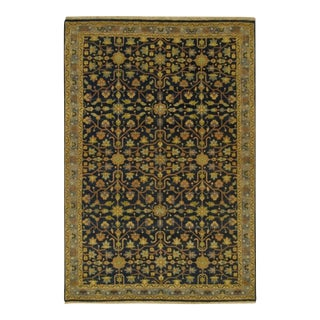 "Heriz Style Hand Knotted Rug - 5'2"" X 7'8"" For Sale"