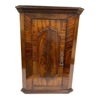 Antique Hanging Corner Cabinet For Sale