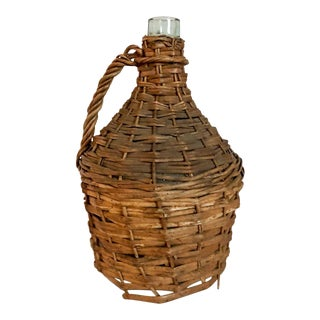 Antique Demijohn Bottle For Sale