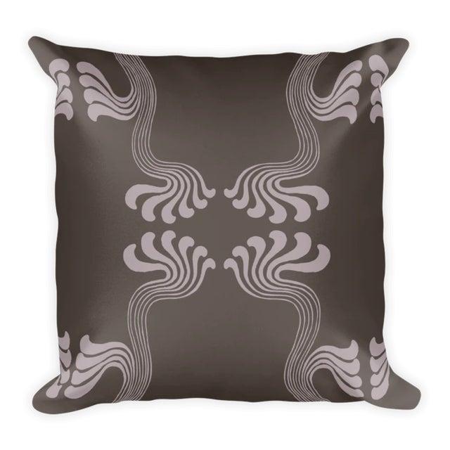 Art Nouveau Art Nouveau Thyself Throw Pillow For Sale - Image 3 of 3