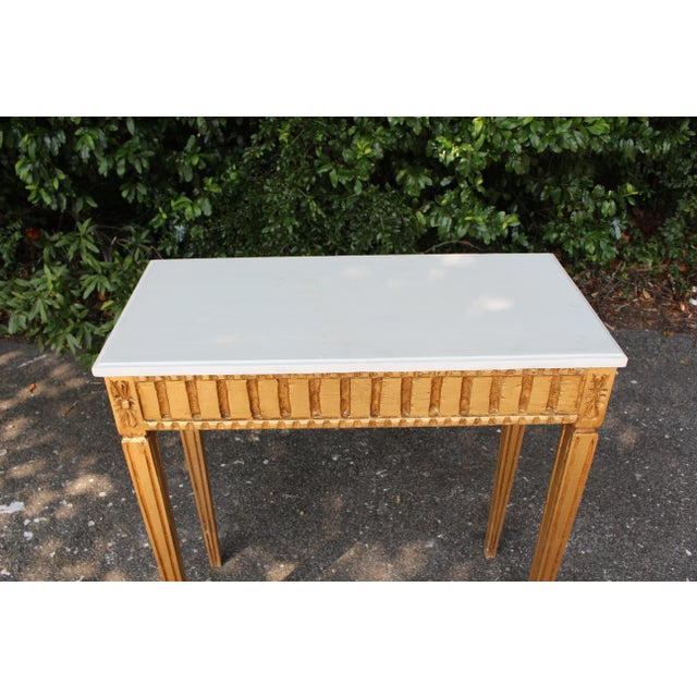 French Country Wooden Top Occasional Table For Sale - Image 4 of 7