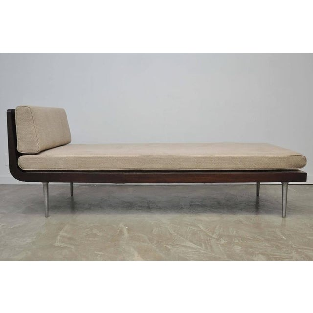 Rare Chaise Longue by Edward Wormley for Dunbar For Sale - Image 10 of 10