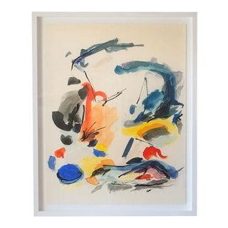 """""""Blue Notes No. 2"""" Framed Print For Sale"""