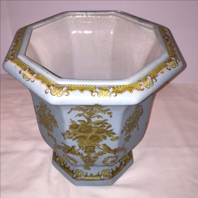 Chinese Octagonal Porcelain Planter - Image 3 of 6