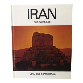 Iran Des Bâtisseurs, 2500 Ans D'architecture Book For Sale
