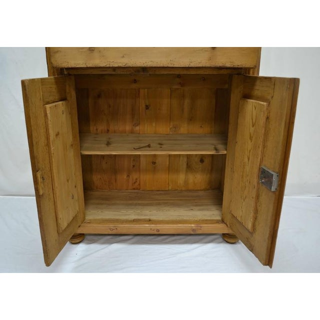 Pine Two-Piece Open Rack Dresser For Sale In Washington DC - Image 6 of 8