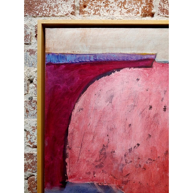 Stephen Stoller Untitled Abstract Oil Painting on Canvas For Sale In Los Angeles - Image 6 of 11