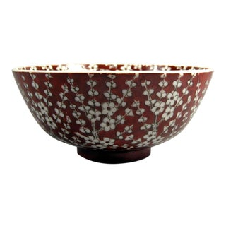 Early 20th Century Chinese Plum-Blossom Bowl For Sale