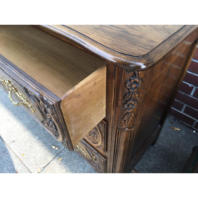 Brown Baker Furniture Company French Style Chest Dresser For Sale - Image 8 of 8