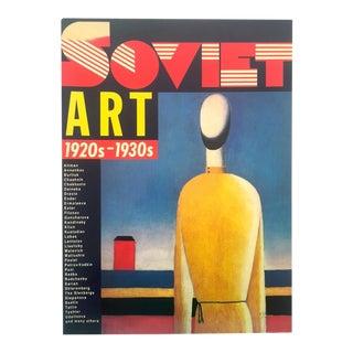 """ Soviet Art 1920's - 1930's "" Vintage 1988 1st Edition Large Volume Modern Art Exhibition Book For Sale"