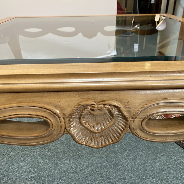 Century Furniture Chardeau Collection Coffee Table For Sale - Image 10 of 12